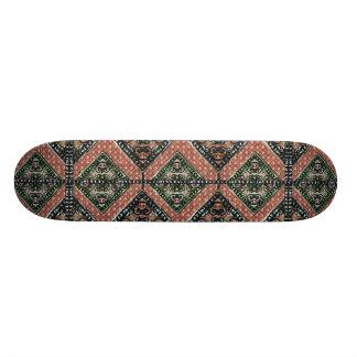 Geometric Decorative Motif Skate Board Deck