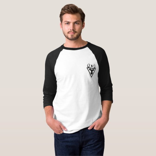 Geometric Deer (Black) T-Shirt