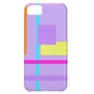 Geometric Design Aquamarine iPhone 5C Case