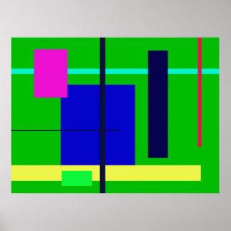 Geometric Design Poster