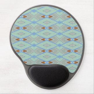 Geometric Diamond Gel Mouse Mat