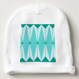Geometric Diamonds & Starbursts Baby Hat Baby Beanie