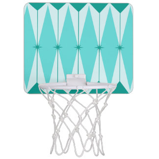 Geometric Diamonds & Starbursts Basketball Hoop