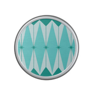 Geometric Diamonds & Starbursts Bluetooth Speaker