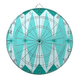 Geometric Diamonds & Starbursts Dart Board