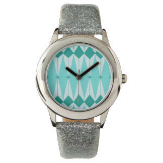 Geometric Diamonds & Starbursts Kid's Watch
