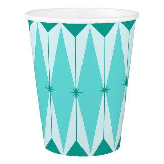 Geometric Diamonds & Starbursts Paper Cups