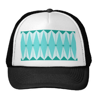 Geometric Diamonds & Starbursts Trucker Hat