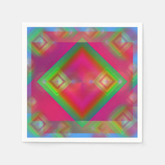 Geometric Disposable Napkins