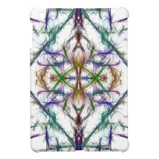 Geometric drawing on white background case for the iPad mini