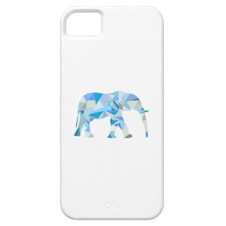 Geometric Elephant Phone Case