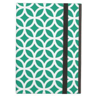 Geometric Emerald Green iPad Air Case