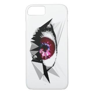 Geometric Female Eye Design iPhone 7 Case