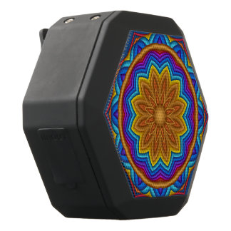Geometric Flower Medallion Boombot REX Speakers
