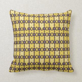 Geometric Flower Pattern Pillow