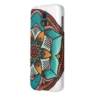 Geometric Flower Phone Case