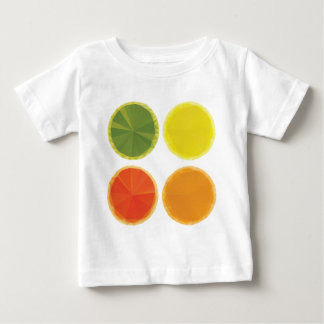 Geometric Fruit Slices Tshirts