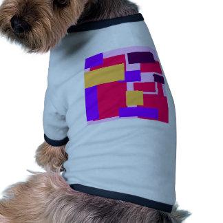 Geometric Fun pink Dog Clothes