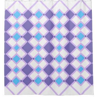 Geometric Fun Shower Curtain