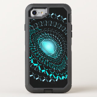 Geometric galaxy OtterBox defender iPhone 8/7 case