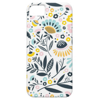 Geometric Garden Floral Pastel Pattern Case For The iPhone 5