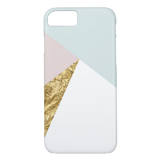 Geometric Gold Foil Phone Case