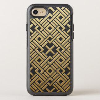 Geometric Golden Metallic OtterBox Symmetry iPhone 8/7 Case