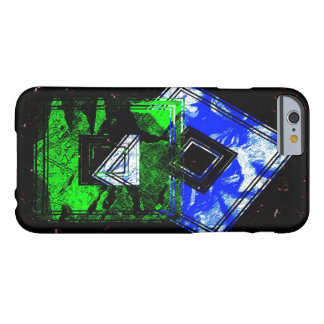 Geometric Green Blue iPhone 6 case Barely There iPhone 6 Case