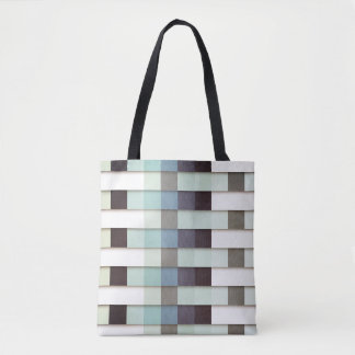 Geometric Grunge Graphic Tote Bag