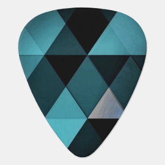 Geometric Guitar Pick