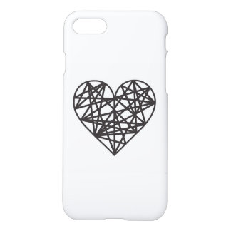 Geometric heart iPhone 8/7 case