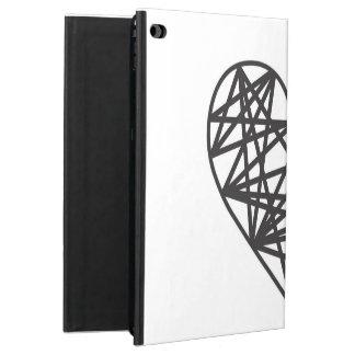 Geometric heart powis iPad air 2 case