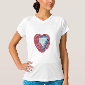 Geometric Heart T-Shirt