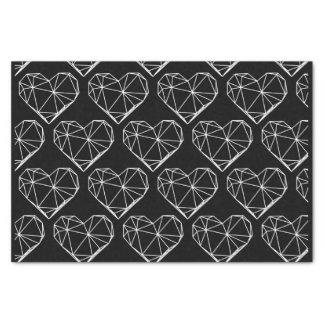Geometric Hearts Tissue Paper
