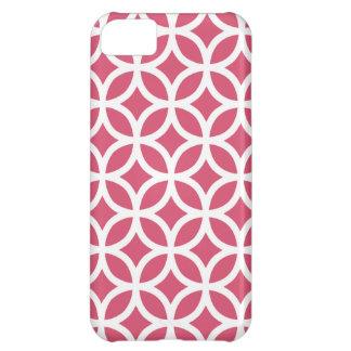 Geometric Honeysuckle Pink Iphone 5 Case