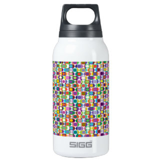 Geometric Insulated Water Bottle