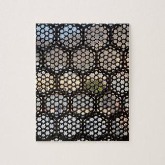 Geometric Lattice window, India Jigsaw Puzzle