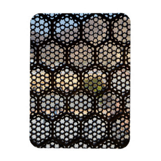 Geometric Lattice window, India Magnet