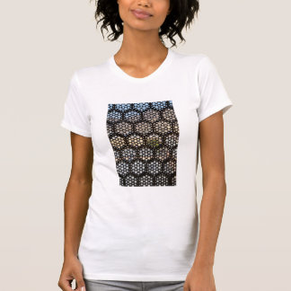 Geometric Lattice window, India T-Shirt