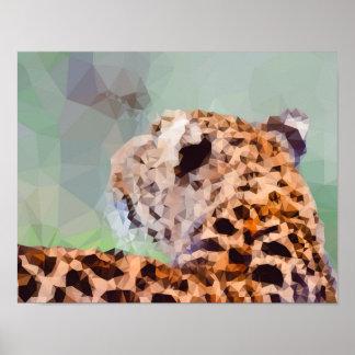 Geometric Leopard Print