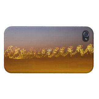 Geometric Light Art - iPhone Case