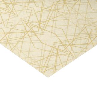 Geometric Line Design Tissue Paper