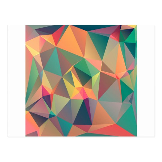 Geometric Lovers Postcard
