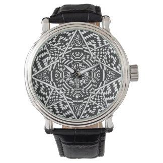 Geometric Mandala Watch