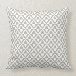 Geometric Modern Christmas Trees Pillow
