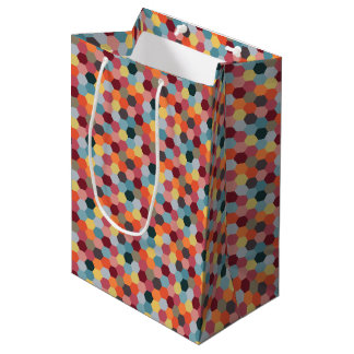 Geometric Modern Hexagon Gift Bag