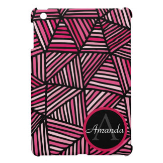 Geometric Monogrammed iPad Mini Case