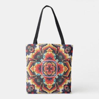 Geometric Motif Tote Bag