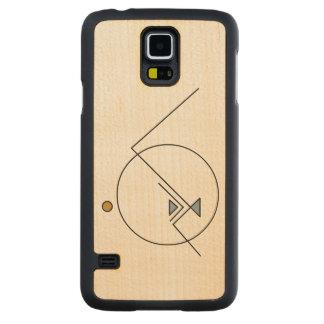 Geometric Mountain | Modern | Custom Maple Galaxy S5 Case