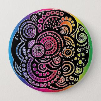 Geometric Multicolor Button